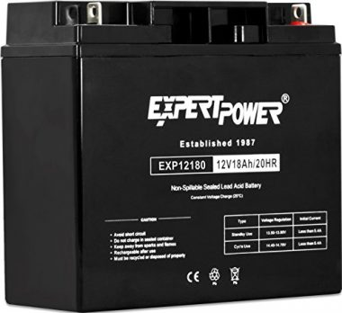 ExpertPower 12 Volt 18 Ah Rechargeable Marine Battery