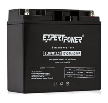 ExpertPower EXP12200 12 Volt 20 Ah Deep Cycle Marine Battery