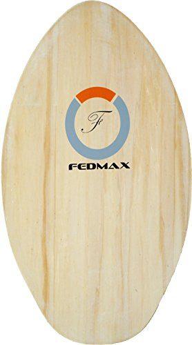 Fedmax Skimboard with High Gloss Coat