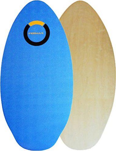 Fedmax Wood Skimboard with IXPE Foam Traction