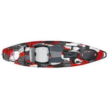 Feelfree Lure 10 Red Camo Stand Up Fishing Kayak