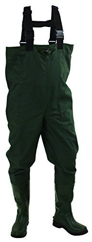 Frogg Toggs Cascades Rubber Bootfoot Chest Waders for Men