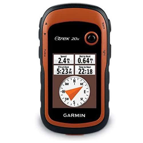Garmin eTrex 20x Handheld GPS Navigator Marine GPS