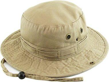 KBETHOS Summer Outdoor Boonie Bucket Sun Hat