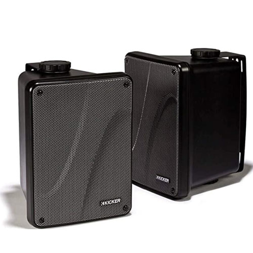 Kicker KB6000 6.5″ Full Range Indoor/Outdoor Marine Speakers
