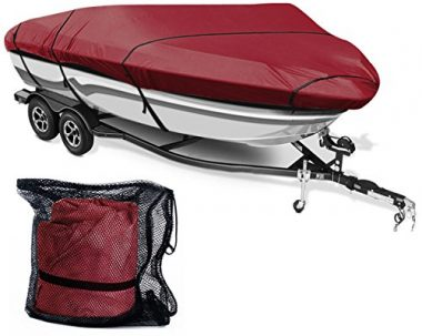 Leader Accessories 600D Runabout Boat Cover