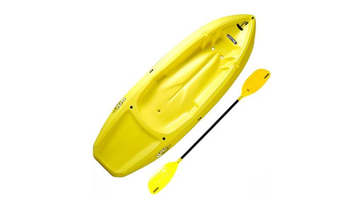 Lifetime 6 Foot Yellow Youth Lightweight Kayak
