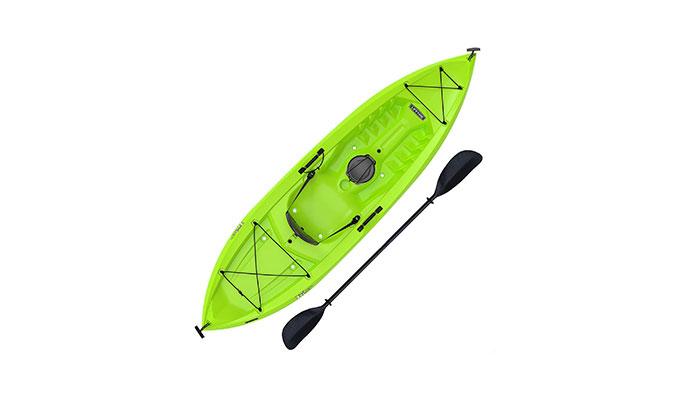 Lifetime Tioga Sit-On-Top Kayak, Lime, 120