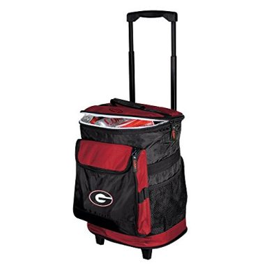 Collegiate 48 Can Rolling Insulated with Backpack Straps Soft Cooler