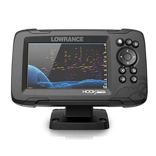 Lowrance Hook Reveal 5X SplitShot Chirp Transducer Marine GPS