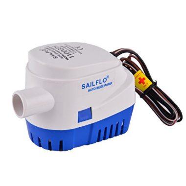 MAXZONE Automatic Submersible Boat Bilge Water Pump