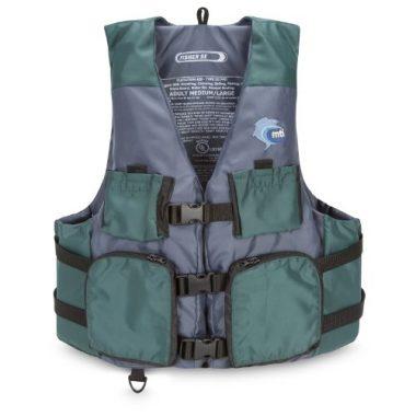 MTI Adventurewear Fisher Kayak Fishing PFD Life Jacket