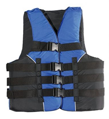 MW Watersports MW Adult 4-Buckle Life Jacket Ski Vest