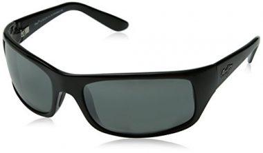 Maui Jim Mens Peahi Sunglasses (202) Plastic, Acetate