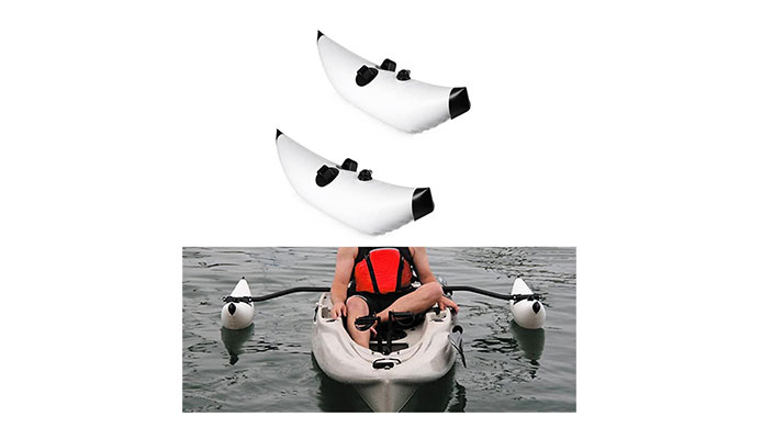 Mexidi PVC Inflatable Kayak Outriggers