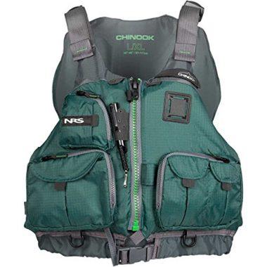 NRS Multi-Use Chinook Fishing PFD Kayak Life Vest