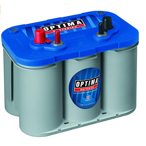 Optima Batteries Blue Top D34M Starting Deep Cycle Marine Battery