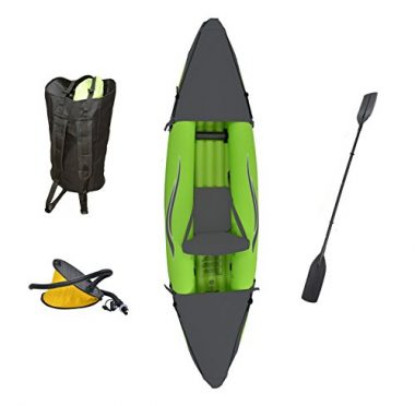 Stinger 3 OTF-2751PK Inflatable One-Person Sport Kayak by Outdoor Tuff