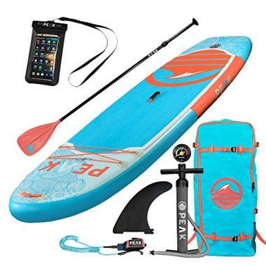 PEAK 10' Yoga Fitness Inflatable Paddle Board For Yoga