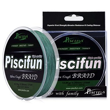 Piscifun Improved Braided Fishing Line For Spinning Reel