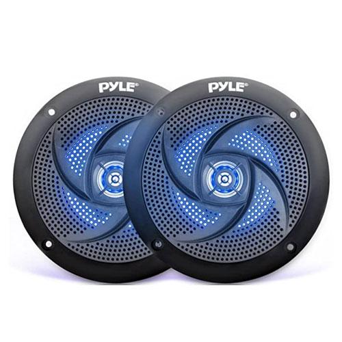 Pyle Low Profile Waterproof Marine Speakers