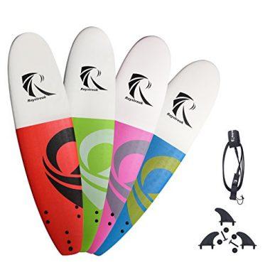 Raystreak Soft Top Surfboard