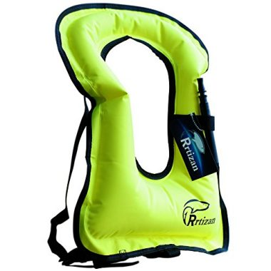 Rrtizan Unisex Adult Portable Inflatable Life Jacket