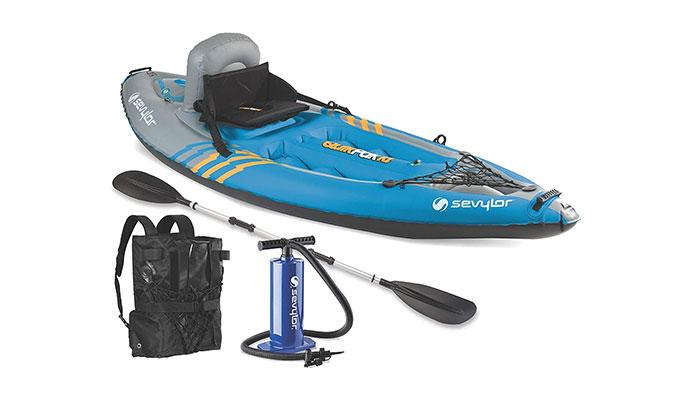 Sevylor Quikpak K1 Lightweight Kayak