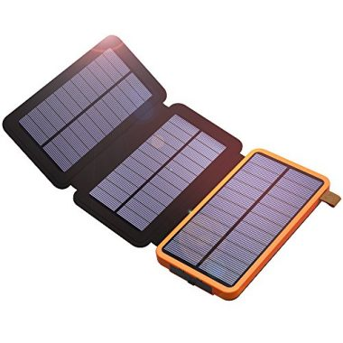 X-DRAGON Solar Charger with 3 Solar Panels