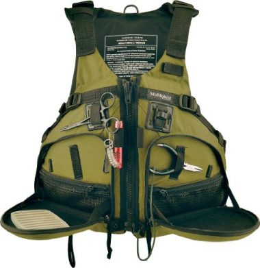 Stohlquist Fisherman Personal Floatation Device Fishing Life Jacket