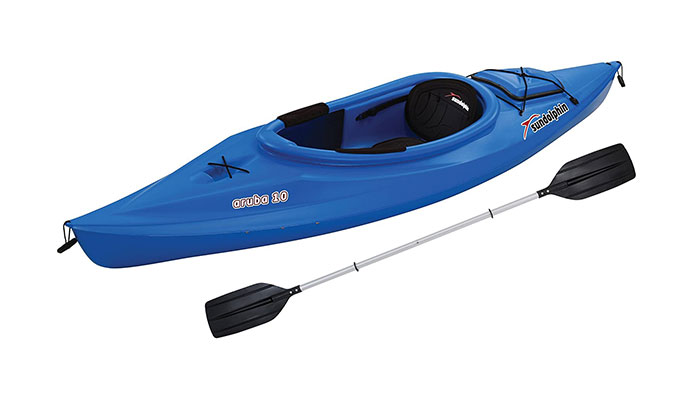 Sun Dolphin Aruba 10-Foot Sit-in Lightweight Kayak