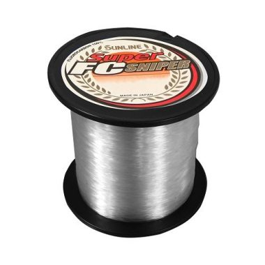 Sunline Super FC Sniper Fluorocarbon Fishing Line For Spinning Reel