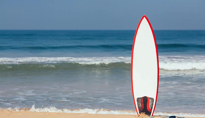 Surfboard_in_the_Sand