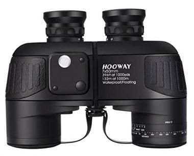 Hooway Binoculars waterproof Military 7×50 Marine binoculars