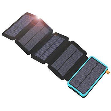 X-DRAGON Solar Charger, 20000mAh Solar Charger Power Bank