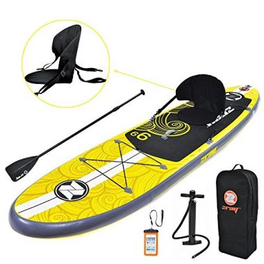 Zray X1 Inflatable Fishing Paddle Board