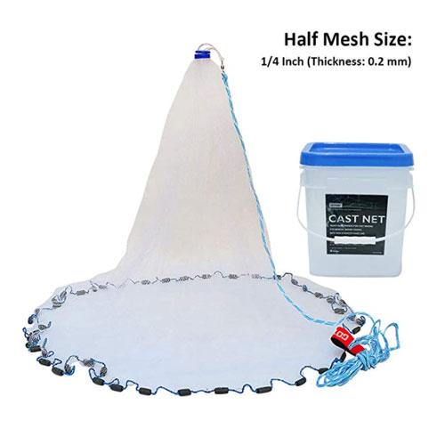 Goture American Saltwater ¼-inch Fishing Cast Net