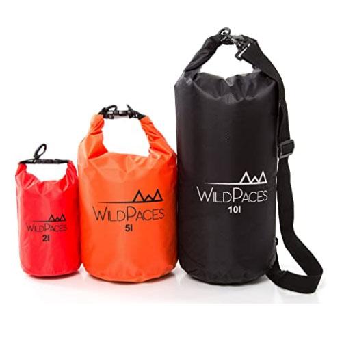 WildPaces All Purpose Waterproof Dry Bag Set