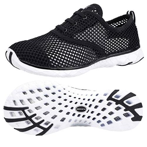 Aleader Men's Quick-Drying Aqua Water Shoes