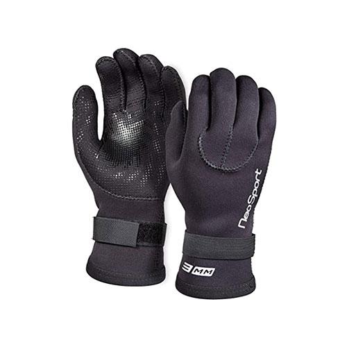Neo-Sport Neoprene Five Finger Wetsuit Gloves