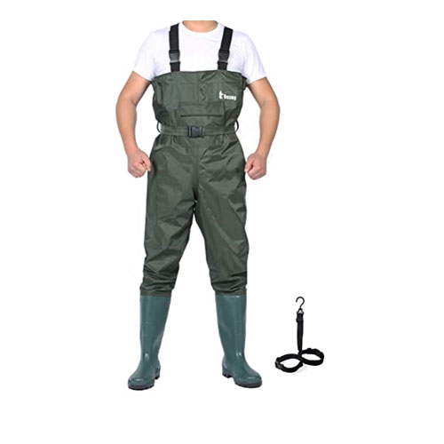 Ouzong Bootfoot Lightweight Fly Fishing Wader