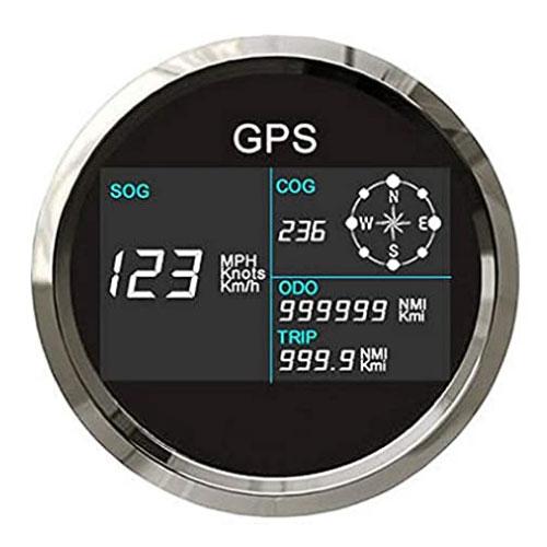 ELING Digital Backlight LCD Boat Speedometer