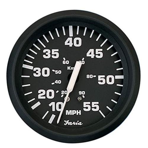 Faria 32810 Euro Boat Speedometer