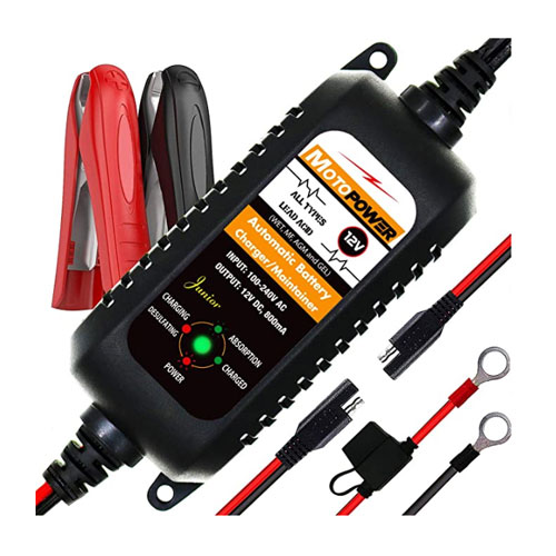 MOTOPOWER Fully Automatic Marine Battery Charger