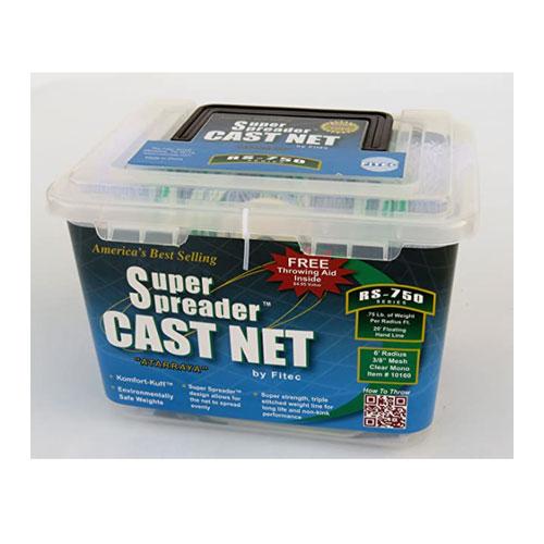 Fitec Super Spreader Nylon Fishing Cast Net