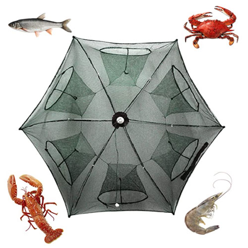 Noa Store Fishing Bait Foldable Cast Net