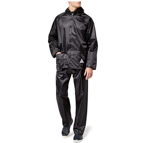 Result Men's Heavyweight Waterproof Rain Jacket & Trouser Suit