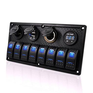 Genuine Marine Gang Rocker Switch Panel