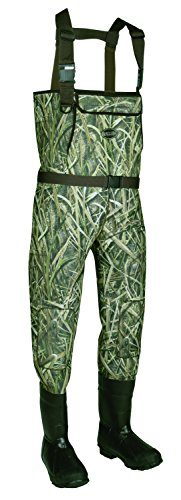 Allen Cattail Bootfoot Neoprene Chest Waders, Mossy Oak Blades Camo