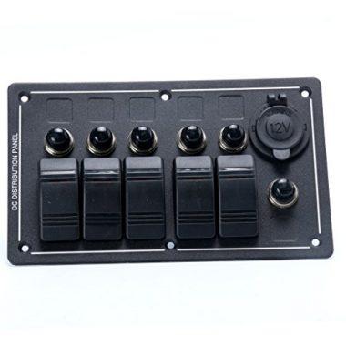 Amarine-made 5 Gang Switch Panel